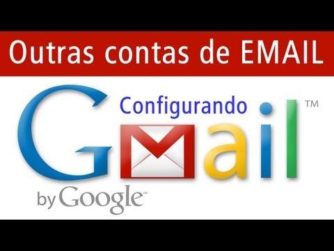 Configurando outras contas email no gmail, como usar o gmail como servidor de emails