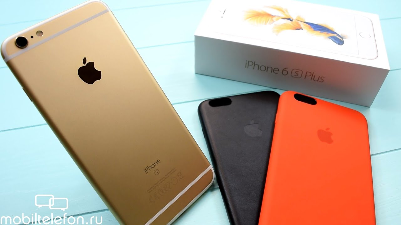 Распаковка iPhone 6S Plus рядом с Xiaomi Mi5, Meizu Pro 6, Galaxy .