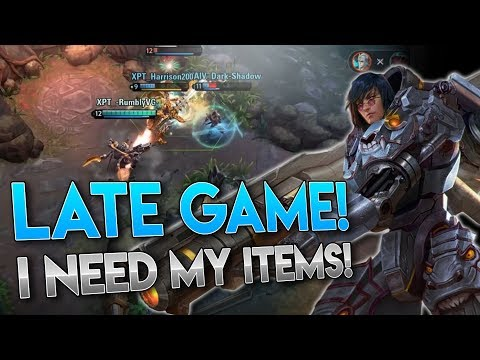 DEFINITION OF LATE GAME!! Vainglory 5v5 Gameplay - Baron |CP| Top lane Gameplay