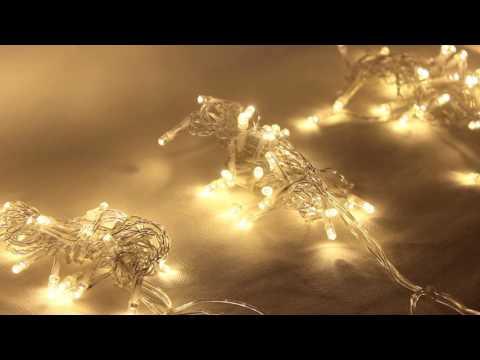 LED Fairy String Curtain Light Demo