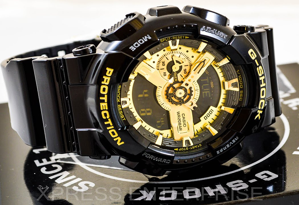 2a805fca1c7a Casio GSHOCK GA110GB-1A REVIEW