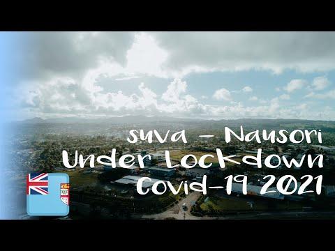 DRONE VIEW FIJI | SUVA-NAUSORI CORRIDOR DURING LOCKDOWN - MAY'2021