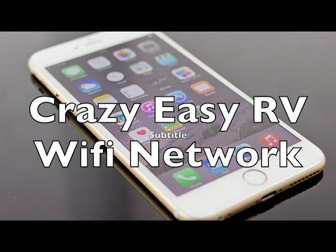 Easy RV Internet Wifi Network