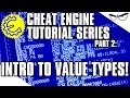 Cheat Engine 6.4 Tutorial Part 2: The Importance of Value Types