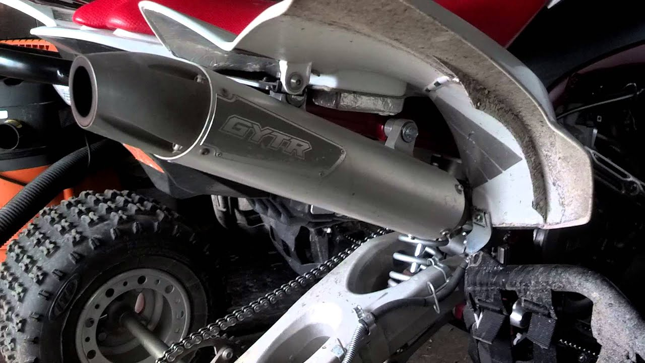 Yfz 450r Gytr Exhaust