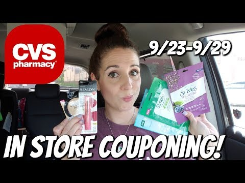 CVS IN STORE COUPONING 9/23/18-9/29/18 MONEYMAKERS GALORE!