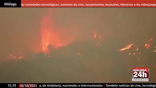 🔴Noticia - Aparece humo en el incendio de Sierra Bermeja, que está controlado pero sin extinguir