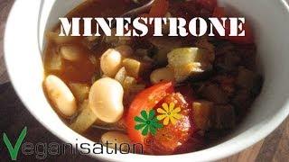Rezept Vegane Minestrone Vegan Kochen Veganisation