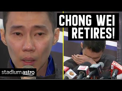 Lee Chong Wei Makes Emotional Announcement To Retire | Astro SuperSport