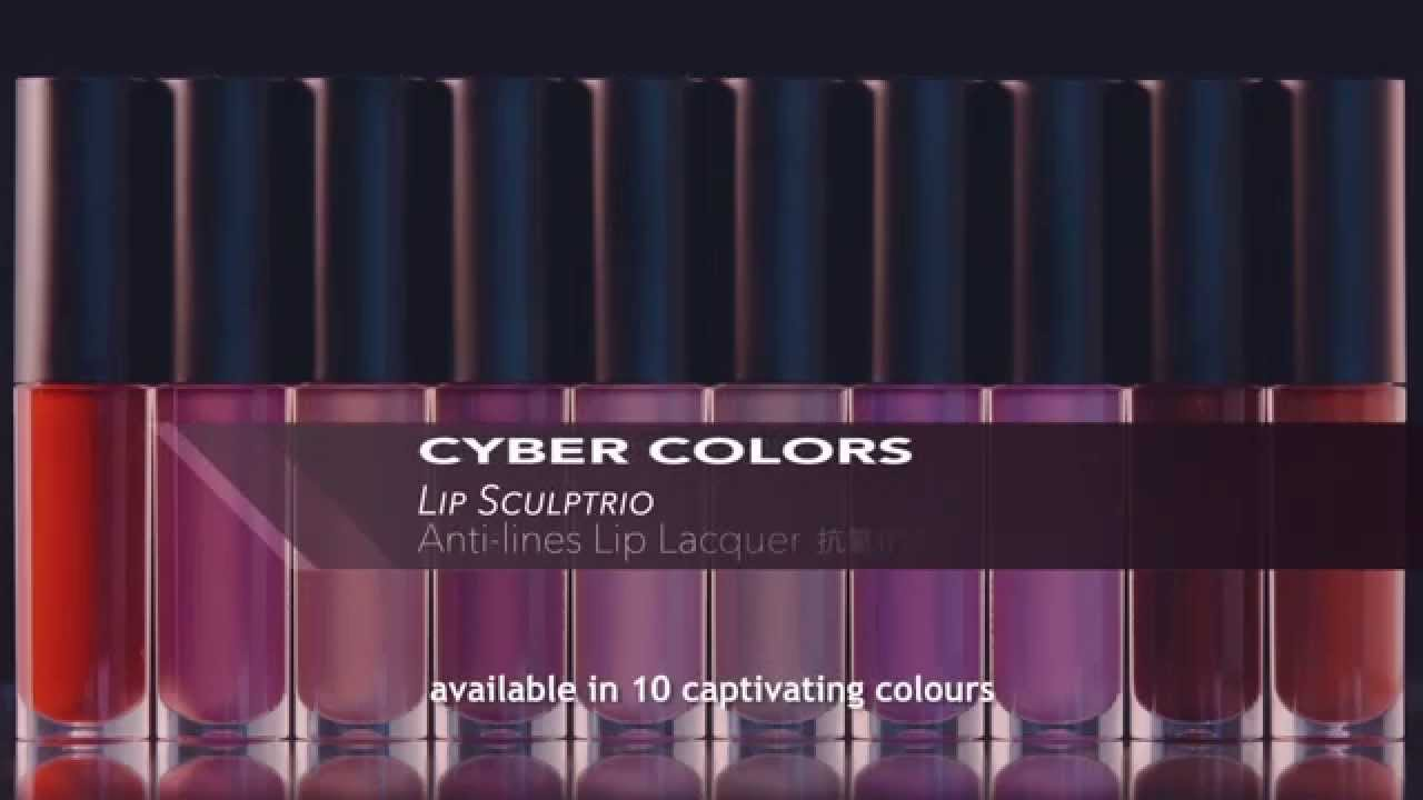 cyber colors anti lines lip lacquer available at sasa singapore