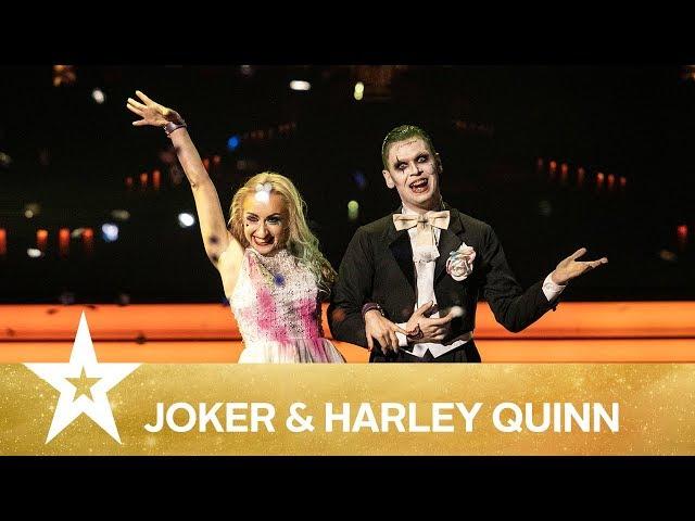 Joker & Harley Quinn | Danmark har talent 2019 | Finalen