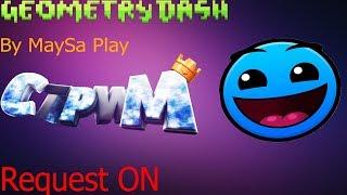 Играем в Geometry Dash Req ON STREAM!!! [RUS] [ENG]