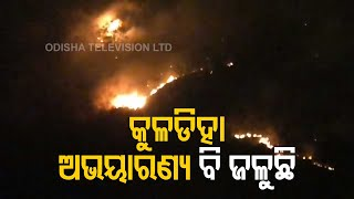 Wildfire Ravages Similipal