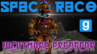 NIGHTMARE FREDBEAR | Space Race | Five Nights at Freddy's 4 GMOD