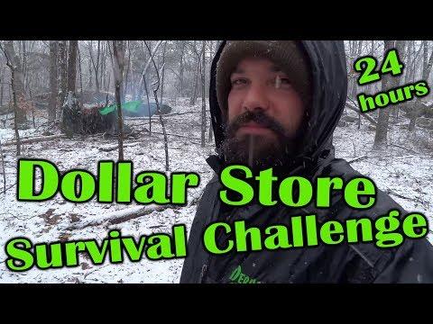 Dollar Store Survival Challenge - Deranged Survival