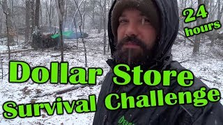 Dollar Store Survival Challenge - Deranged Survival