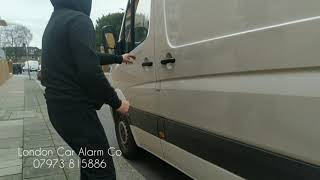 Mercedes Sprinter Security Upgrade | Starline E96 Van Alarm | London Car Alarm Co