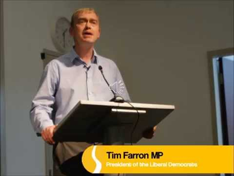 Tim Farron MP - Building a New Consensus