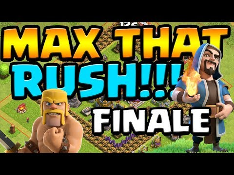GRAND FINALE!  MAX That RUSH ep37 FINALE!  Clash of Clans