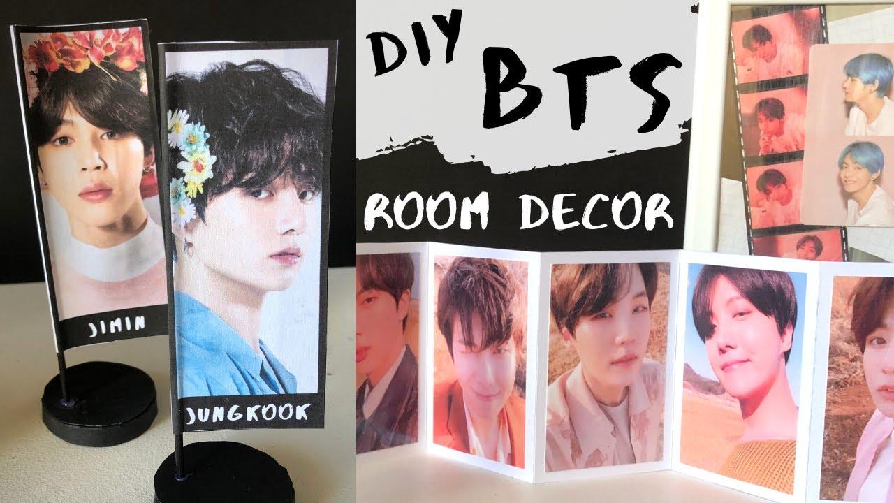 Diy Bts Aesthetic Room Decor Youtube