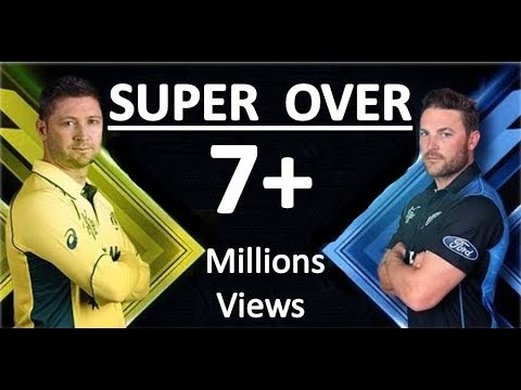 SUPER OVER - Australia vs New Zealand