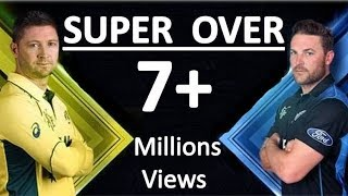 SUPER OVER - Australia vs New Zealand