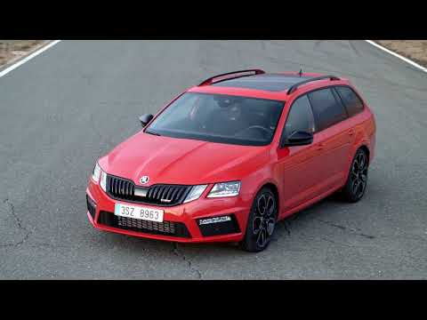 2018 Skoda Octavia Rs 245 On The Racetrack And Sheet Metal Design