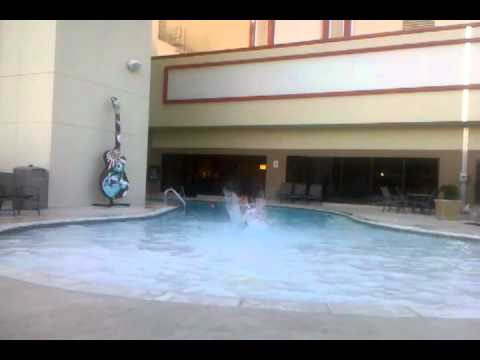 Pool Side Hard Rock Tulsa Youtube