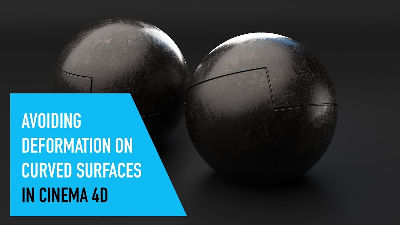 How to Maintain Sharp Corners on a Curved Surface in C4D