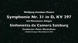 Mozart: Symphonie Nr. 31 (Pariser) 3rd Movement