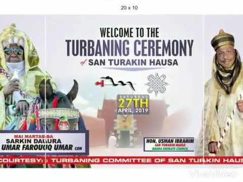 Download Short clip video of SARDAUNAN SAN TURAKIN HAUSA #ELMUAZ VIDEO/AUDIO