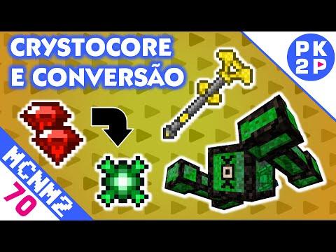 Boss Crystocore e Troca de Cristais por Essência! • Minecraft NM2 #70