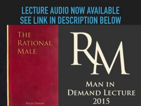 Man in Demand Rollo Tomassi Lecture Audio Finally Available Now Mp3