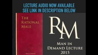 Gambar cover Man in Demand Rollo Tomassi Lecture Audio Finally Available Now