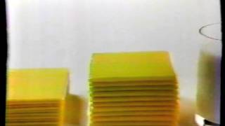 1984 Kraft Extra Thick Singles Commercial