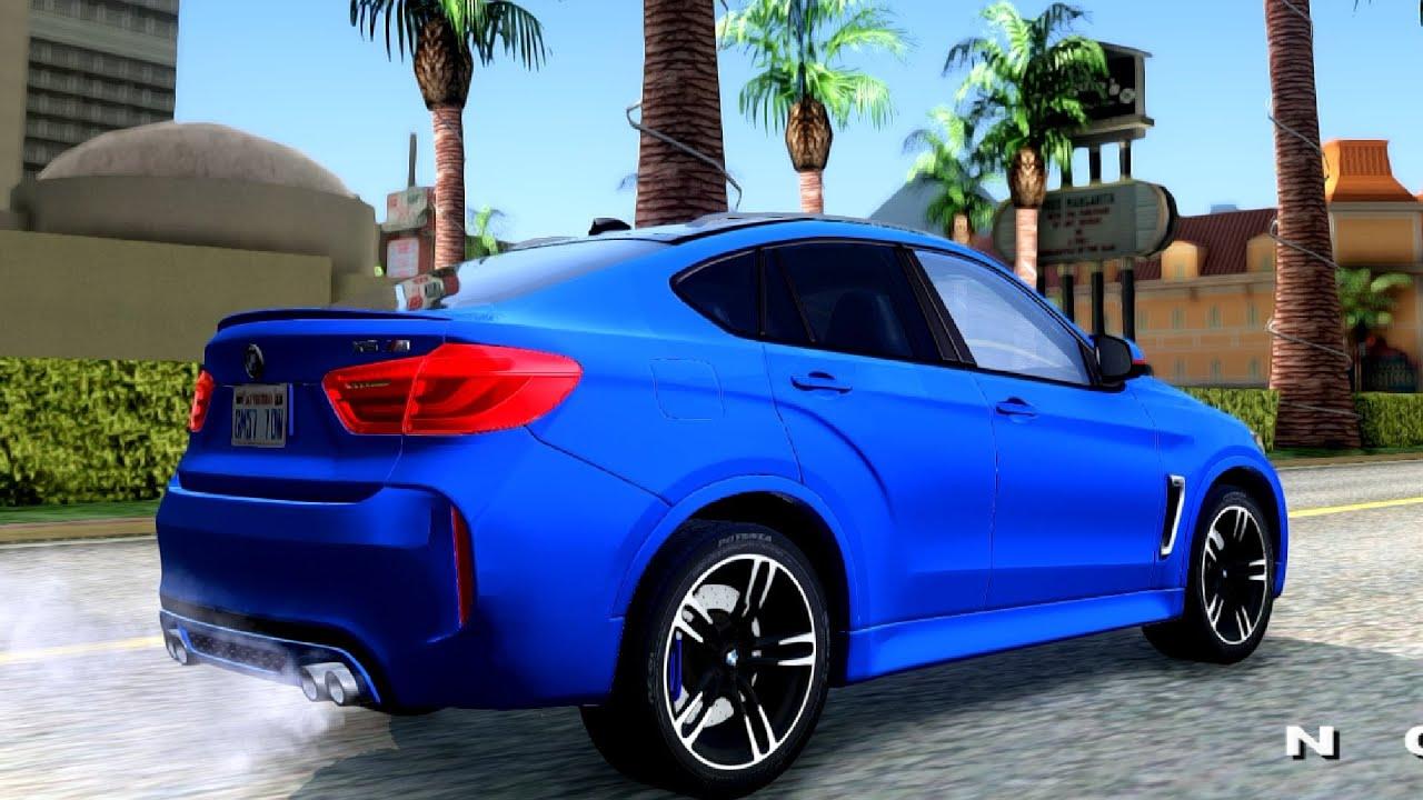 BMW X6M 2015 - GTA San Andreas - YouTube