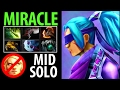 Miracle- Dota2 [Anti Mage] Solo Mid vs Invoker- Magic Sucks!