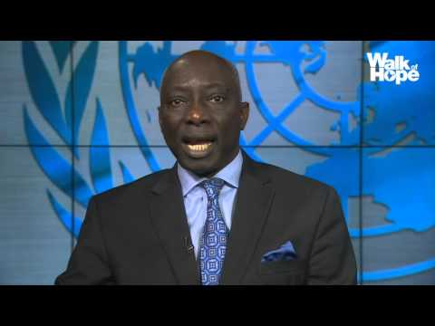 Walk of Hope 2015 -16 | Message from Adama Dieng,  UN Special Adviser on the Prevention of Genocide