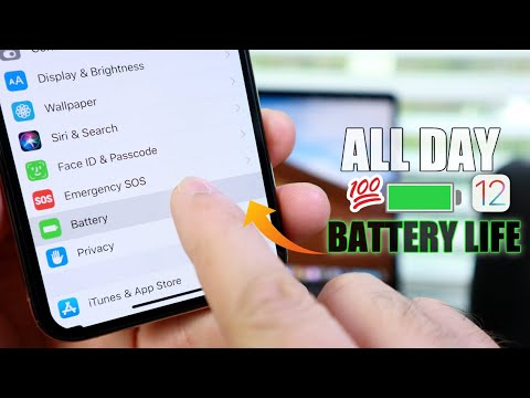 All Day Battery Life on iPhone | How to do it