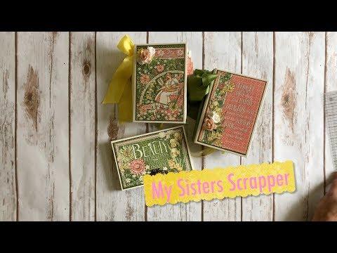 G45 Garden Goddess Mini Albums