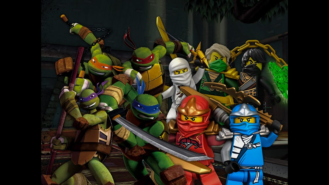 Teenage mutant ninja turtles vs ninjago epic rap battles of cartoons season 2 youtube - Ninjago vs ninjago ...