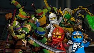Teenage Mutant Ninja Turtles vs Ninjago. Epic Rap Battles of Cartoons Season 2.