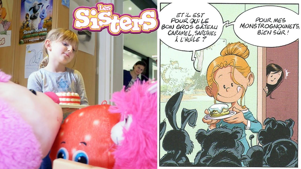 SISTERS STORY • T'ES QU'UNE SALE GOÏSTE ! - LES SISTERS court-métrage