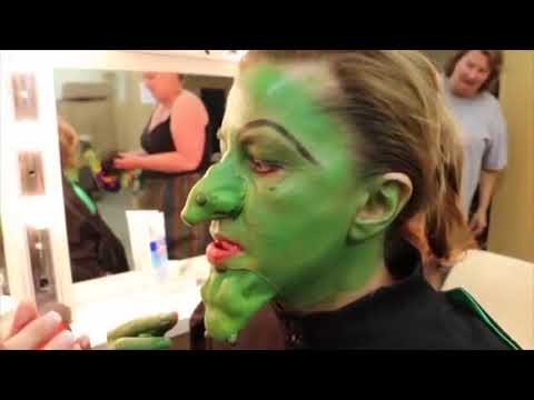 Transforming into the Wicked Witch of the West