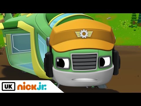Blaze and the Monster Machines | The Sky Track | Nick Jr. UK