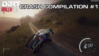 DiRT Rally 2.0 - Crash Compilation #1
