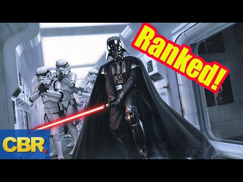 Star Wars: The Most Powerful Characters Ranked