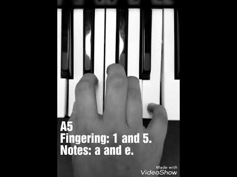 A5 Chord Lesson, Music, Keyboard, Piano - YouTube