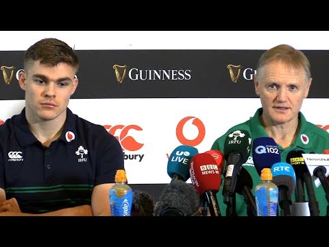 Joe Schmidt & Garry Ringrose Pre-Match Press Conference - New Zealand v Ireland