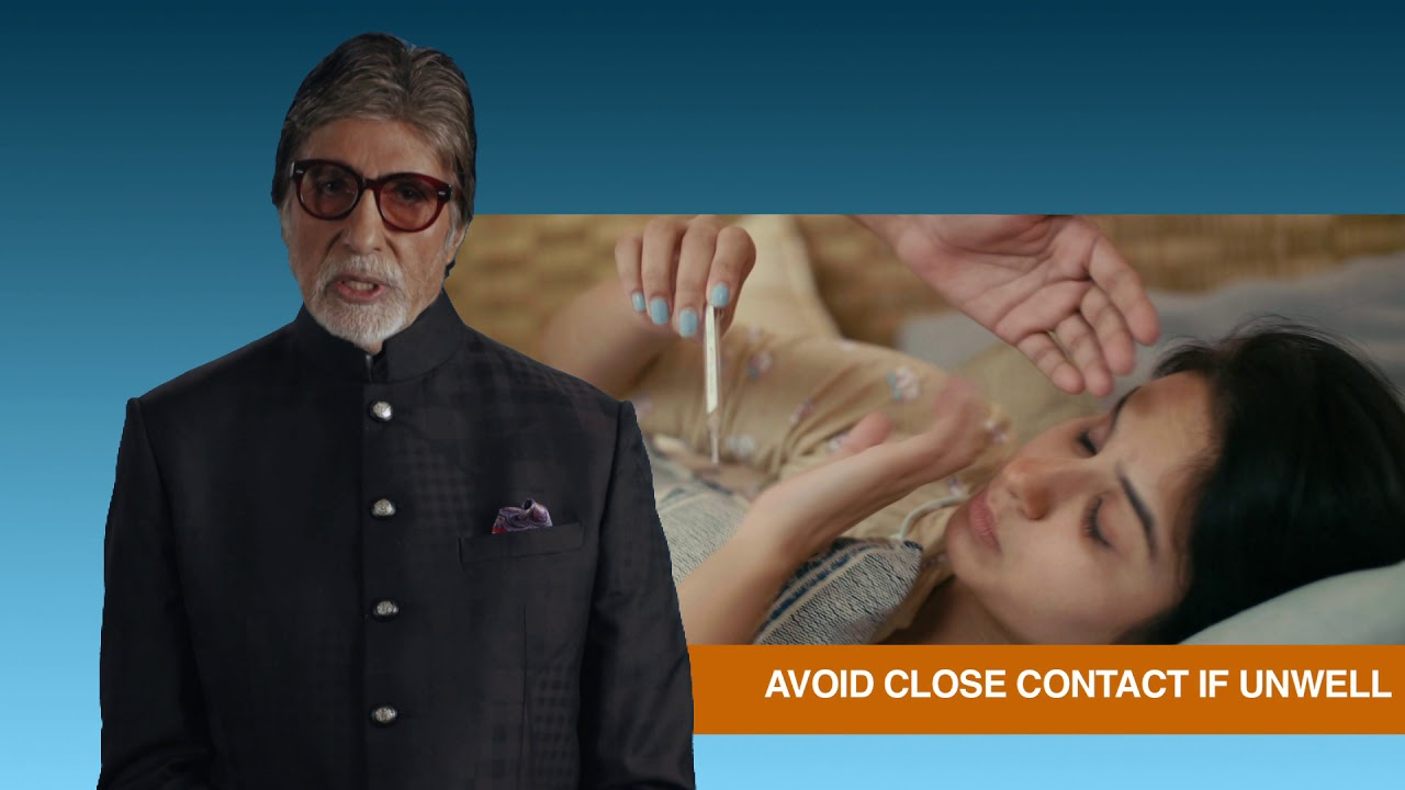 Amitabh Bachchan's message on COVID-19 - YouTube